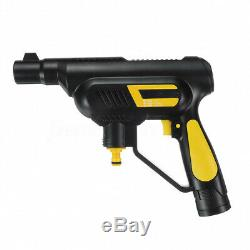 LCD Cordless High Pressure Cleaner Washer Gun Water Hose Nozzle Pump Kit Battery