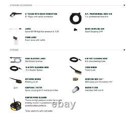 Lavor Advanced 1108 Hot Water Pressure Washer