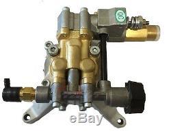 New 3100 PSI POWER PRESSURE WASHER WATER PUMP Upgraded Husky HU80833 HU80915