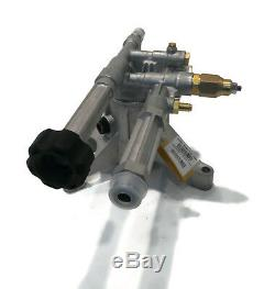 New OEM AR 2600 psi POWER PRESSURE WASHER PUMP fits Troy-Bilt 020344-1 020344-2