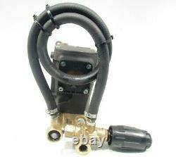 Open Box 4000 PSI AR PRESSURE WASHER PUMP & VRT3 Unloader replaces RKV4G37D-F24
