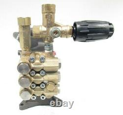 Open Box 4000 psi AR PRESSURE WASHER PUMP & VRT3 RRV 4G40-M Annovi Reverberi