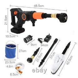 Portable Cordless Electric Pressure Washer Water Jet Wash Patio Car Cleaner