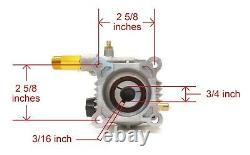Power Pressure Washer Water Pump for Campbell Hausfeld Giant GXRH2424, 3/4 Inch
