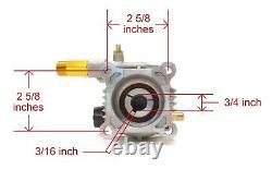 Power Pressure Washer Water Pump for Mi-T-M, WP-2700-4MHB, WP-2703-3MHB Sprayers