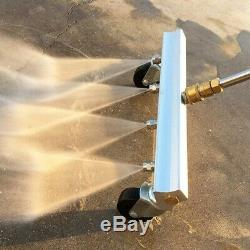 Pressure Washer Water Broom, 13 Inch Power Washer Cleaner With 2 Pieces 15 D