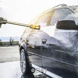 Rechargable Cordless Car Wash Hose Set High Pressure Watering Nozzle Gun Spray