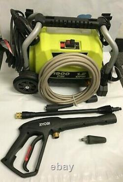 Ryobi RY1419 MTVNM 1900 PSI 1.2 GPM Electric Pressure Washer GR M