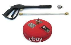 SPRAY GUN, WAND, 5-in-1 NOZZLE, & SURFACE CLEANER KIT fits Sears Craftsman Honda