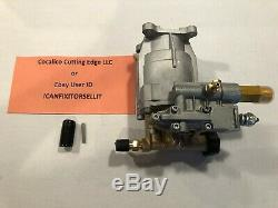 Simpson Mega Shot MS31025HT 3000 PSI Power Pressure Washer Water Pump FREE KEY