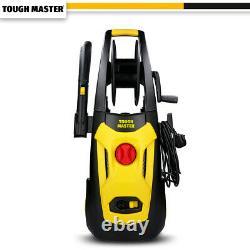 TOUGH MASTER Electric Pressure Washer 140 Bar Water Wash Patio Car