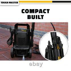 Tough Master Electric Pressure Washer 110 Bar Water Wash Patio Car