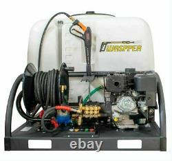 Waspper 4000PSI Skid Sprayer Electric Start 260 Gal Water Tank 420 CC
