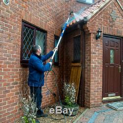 Wolf Telescopic Sky Reacher Lance Pressure Washer Water With Accessories