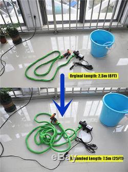 12v Voiture Lave-linge Nettoyage Pompe Haute Pression Pompe À Eau Ensemble Laveur De Voiture