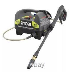 1600 Psi Electric Pressure Washer Ryobi 1.2 Gpm Power Washer Avec Buse Turbo