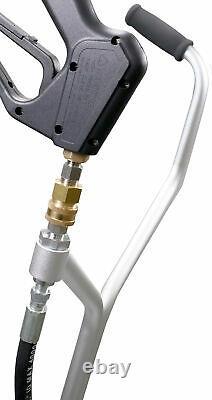 20 Nettoyeur De Surface Plat En Polypropylène Nettoyeur De Pression D'eau Froide Chaude / Roues