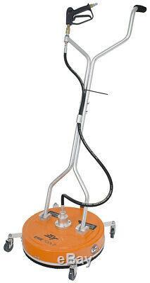 20 Surface Cleaner Avec Pression Roues Laveuse Puissance Chaude Eau Froide Pistolet Tuyau