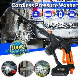 20v Sans Fil Haute Cleaner Nettoyeur Haute Pression Pistolet Tuyau D'eau Buse Pompe Rechargeble