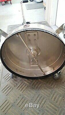 21 Surface Cleaner En Acier Inoxydable Plat Puissance Nettoyeur Haute Pression Eau Avec Roues