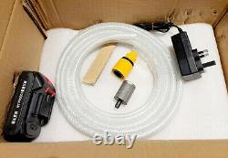 21v Cordless Pressure Power Cleaner Portable 3l/min 10ah Li-ion Batterie