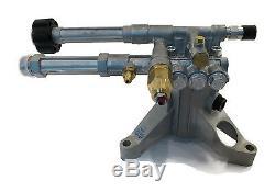 2400 Psi Ar Alimentation Pression Lave Pompe A Eau Excell Devilbiss Vr2522 Vr2320