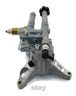 2400 Psi Ar Alimentation Pression Lave Pompe A Eau Mi-t-m Cv-cv-2000-1mbc 2000-2mbc