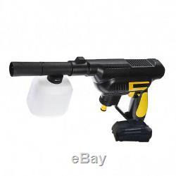 24v Nettoyeur Haute Pression Sans Fil D'alimentation Portable Voiture Window Cleaner Speed gun Eau