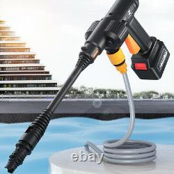 24vf Voiture Haute Pression De Lave-eau De Pulvérisation D'eau Nettoyeur De Pistolet Jardin Machine À Laver