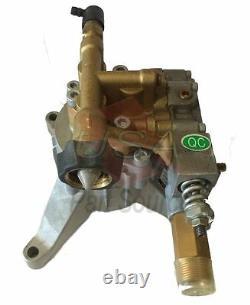 2700 Psi Pression Lasher Water Pump Brass Fit Husky Hu80709 Hu80709a Nouveau