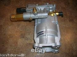 3000 Psi Pression Washer Pump New Exh2425 Excell Eau Pump Free Shaft Key