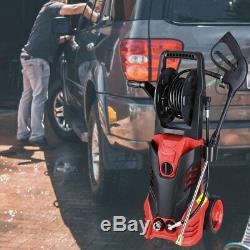 3000psi 1.9gpm Électrique Nettoyeur Haute Pression Nettoyeur Eau Électrique Pulvérisateur Kit 2200w