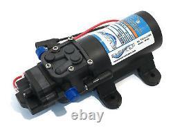 (4) Everflo 12 Volt 1.0 Gpm Pompes À Eau À Diaphragme 40 Psi Pulvérisateurs De Pelouse Bateaux Rv