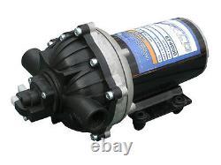 (4) Everflo 12 Volts 4.0 Gpm Pompes À Eau Diaphragme 60 Psi Lawn Sprayers Boats Rv