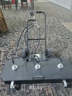 60 Nettoyeur De Surface Plat Pour Lave-eau Froid À Chaud 4000 Psi 10-32 Gpm