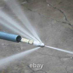 7 Bouton Rotatif D'eau De Jardin Nez De Lavage De Pression Drain Jetter Jeu De Buse