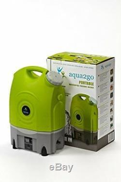 Aqua2go Gd70 Nettoyeur Haute Pression Batterie LI Et Réservoir D'eau 12 Volts 17 Litre