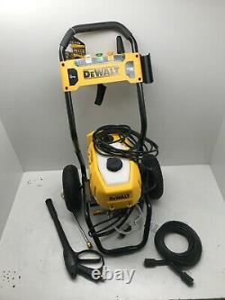 Dewalt Dwpw2400 13 Amp 2400 Psi 1,1 Gpm Laveur À Pression D'eau Froide, Vg