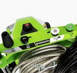 Greenworks 1800-psi 1.1-gpm Laveuse À Pression Électrique D'eau Froide Gpw1803 Pwma