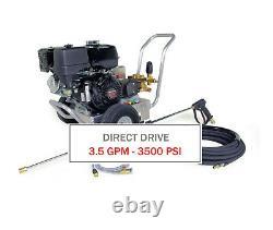 Hotsy 3500 Psi 3.5 Gpm Gas Engine Direct Drive (laveuse De Pression D'eau Froide)