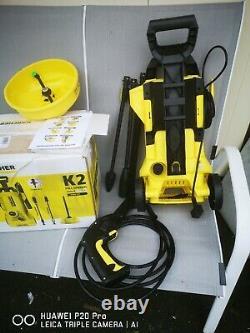 Karcher K2 Full Control Home Pressure Laveuse 240v + Nettoyeur De Patio T150