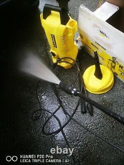 Karcher K2 Machine À Laver À Pression À La Maison 240v + T150 Nettoyeur Patio