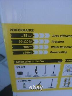 Karcher K3 Full Control Home Pressure Washer 240v 2 Lances. Arme. Tuyau À Réaction De 6m