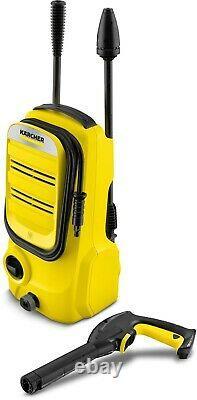 Karcher K 2 Compact Pressure Washer Car Garden Cleaner 4m Tuyau 360l/h Débit D'eau