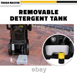 Lave-pression Électrique 2030 Psi/140 Bar Water High Power Jet Wash Patio Car