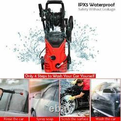 Lave-pression Électrique 2030psi 140 Bar Eau High Power Jet Wash Patio Car