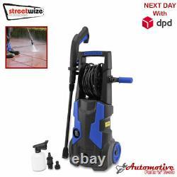 Lave-pression Électrique 2100 Psi/145 Bar Eau High Power Jet Wash Patio Car