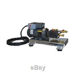 Laveur À Pression D'eau Froide De Bâti Électrique De Dérapage 3,5 Gpm 2000 Psi 5hp 240v