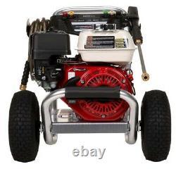 Laveuse À Gaz Eau Froide 3400 Psi 2,5 Gpm 6,5 HP Direct Drive
