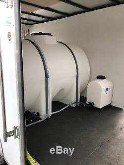 Laveuse À Pression D'eau Chaude Avec Remorque Montée Sur Monture-8gpm, 4000psi-honda Gx690